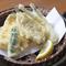 食べると音がするほどサクサクの、人気メニュー『キスの天ぷら』