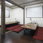個室が充実、座敷は最大60名まで利用できます