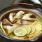 9月以降の秋の味覚『グジと松茸の鍋』で心も身体も温まる