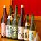 料理に合う日本酒・焼酎・ワインなども充実な品揃え