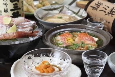 料理メインの宴会、接待、会食に最適なコース料理4種類あります