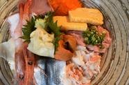 限定5食!海鮮10種の特上海鮮丼(ランチ限定)
