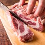 イベリコ豚、短角牛、大山鶏など厳選食材をリーズナブルに!