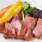 絶品の『ステーキ』は、飛騨牛A5ランク、希少価値のミスジ肉!