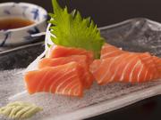 常連のお客様の間でもおいしいと評判の、絶品トロサーモン。新鮮な味わいを堪能できます