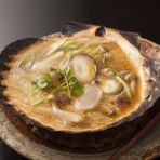 青森の郷土料理『ホタテの貝焼きみそっこ』