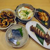 イカ、サバなど料理集合