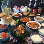 今年の歓送迎会プランは、なんとメイン料理が選べる! *予約のお客様のみ* 冷菜からデザートまでお楽しみいただけます。おひとり様3600円で計10品の満腹満足プラン。