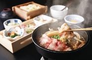 旬の特上寿司と鴨南蛮そば
