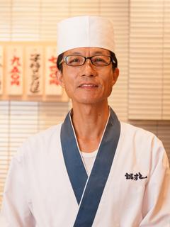 創業32年、目移りせず寿司一筋でここまできました