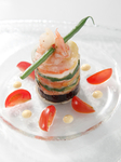 ・アミューズ(ご挨拶の一皿)  ・オードブル  ・季節のスープ  ・季節のお魚料理  ・お肉料理  ・デザート  ・食後のお飲み物  ・パン