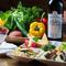 趣向を凝らした季節の料理を、ワインやバドワイザーと合わせて