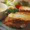 カマンベールチーズとハムのフレンチトースト