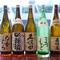 本格焼酎や1ランク上の日本酒も豊富に用意しています