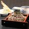 大きな海老天ぷらがそばと一緒に楽しめる『大海老天ざるそば』