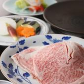 陶板ステーキセット