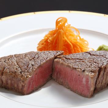 ◆黒毛和牛ディナーステーキコース