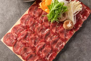 【メディアで話題牛タンしゃぶしゃぶ!】肉料理豊富
