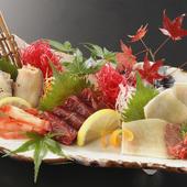 九州の鮮魚のほか、くじら料理も【食彩 すぎやま】 の自慢です