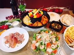 3種のチーズがベストマッチ♪お料理全7品 話題のチーズタッカルビを囲んで楽しい宴会を!