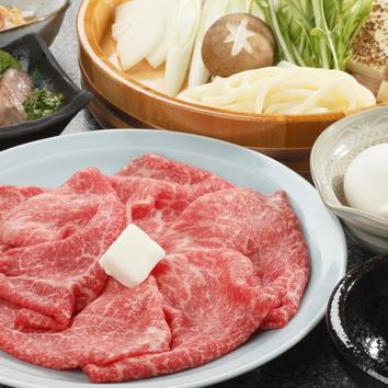 小形牧場牛 すき焼き(1人前 140g) 3780円
