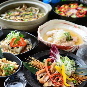 土鍋で炊上げる秋刀魚とで茸の炊込ご飯コース(平日千円OFF)