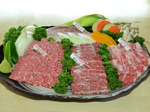 限定品「栃木和牛」「日光高原牛」のみ使用『KIWAMI 極肉盛』