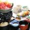 上州牛のすき鍋と銀ひかり刺身膳(昼メニュー)