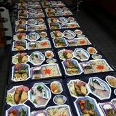 お弁当の配膳サービスも承っております。