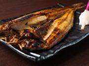 広尾産の、肉厚な「縞ほっけ」を使用しています。脂ののった旬の味を堪能できます