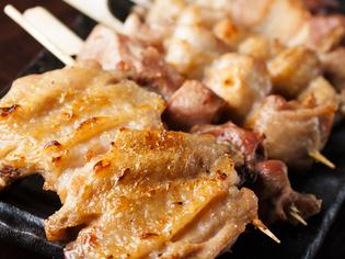 大半の鶏料理は「中札内 田舎鶏」を使用。