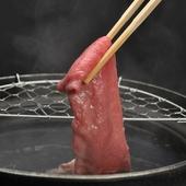 確かな目利きにより厳選した松阪牛の最高級の美味しさが味わえる
