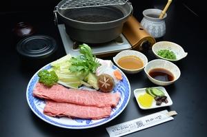 松阪牛 上肉しゃぶしゃぶ (御飯・みそ汁・香の物付)