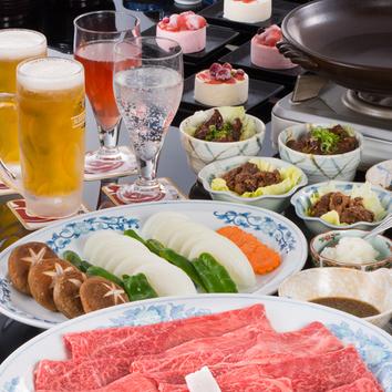宴会プラン 松阪牛陶楽焼コース