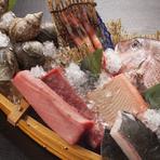 【天海の蔵 瀬上店】 は、魚介類に自信があります