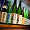 唎酒師が選び抜き、豊富に揃えられた福島県の地酒