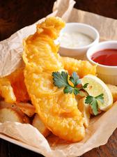 サクサクとした食感がクセになる! 『フィッシュ&チップス』