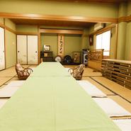 個室は大人数の宴会にオススメ。36人まで利用できる大きな個室なので、会社の宴会や歓送迎会などにぴったりです。種類豊富な料理と予算も充実したコースが多数用意されているので、幹事様にうれしいお店です。