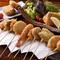 季節の食材をつかった味わい深い串料理『特選串盛り(10本)』