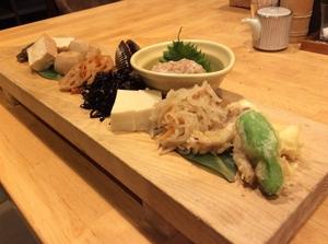 京都の味が楽しめる 『本日のおばんざい盛合せ』