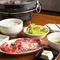 ランチメニュー『カルビ&上牛タン定食』