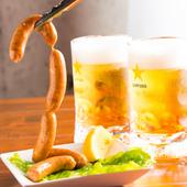 『生チョリソー』はビールにもピッタリ