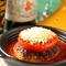 粗挽きハンバーグ<肉汁たっぷり、タジン鍋でお出しします>