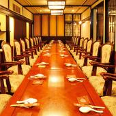 様々な宴会に応じた個室
