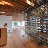 豊富なワインの数々