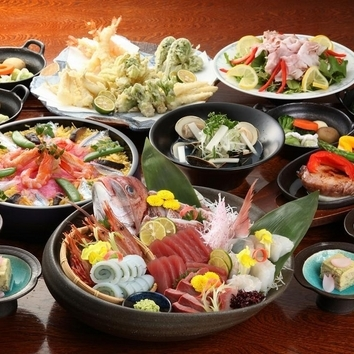 盛り皿 宴会3000円コース