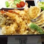 天ぷらと九割そば