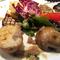 おすすめ料理から「旬野菜のグリル バーニャカウダーソース」