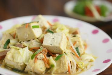 これぞ沖縄料理『豆腐ちゃんぷるー』