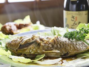 自慢の味『島魚の煮付け』